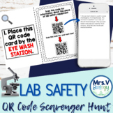 Lab Safety QR Code Scavenger Hunt