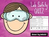Lab Safety Quiz & Answer Key  **EDITABLE**