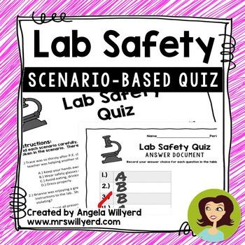 Lab Safety Quiz Teaching Resources Teachers Pay Teachers
