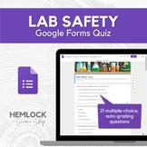 Lab Safety Quiz in Google Forms