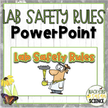 Science Lab Safety Power Point Worksheets Teaching