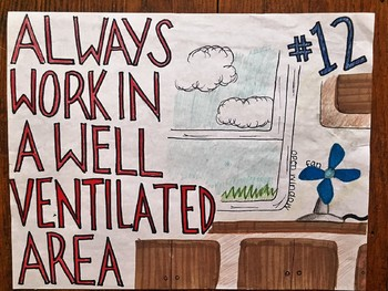 Lab Safety Rules Poster Assignment