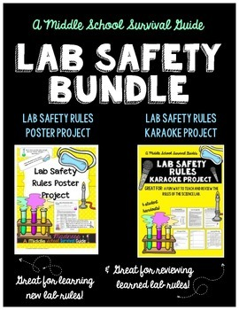 Lab Safety Rules Project Bundle