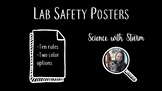 Lab Safety Rules Posters