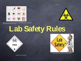Lab Safety Rules and Symbols Presentation Lecture PowerPoint