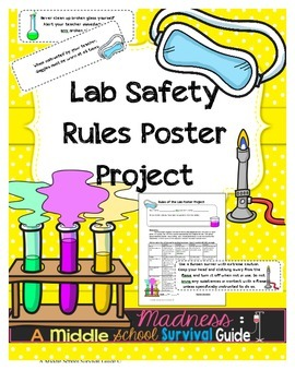 Lab Safety Rules: Poster Project