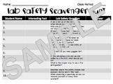 Lab Safety Scavenger Hunt