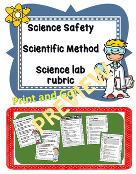 Lab Safety, Scientific Method, Lab Scoring Rubric