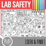Lab Safety Seek and Find Science Doodle Page