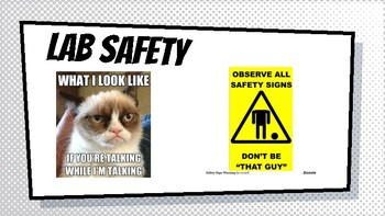 Lab Safety Slides Creative yet to the Point