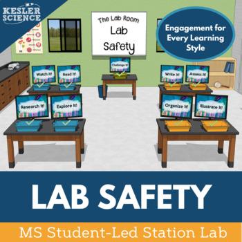 Science Lab Safety Student-Led Station Lab