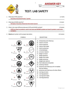 Lab Safety - Test {Editable}