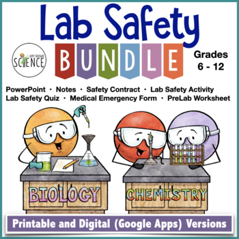 Middle School Lab Safety Quiz Ebook