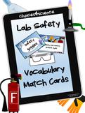 Choices4Science Lab Safety Vocab Lesson Plan Activity (TEKS 4.1A & TEKS 4.4B)