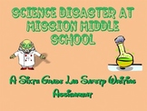 Lab Safety Writing Assignment  - Science Disaster at Mission Middle School