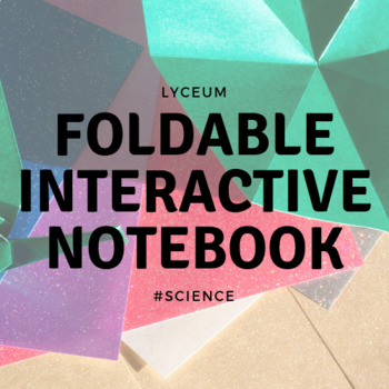 Lab Safety and Equipment (Interactive Notebook - Foldable)