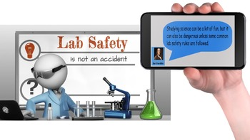 Lab Safety and Investigations PowerPoint Readers' Theater with Notes and Quiz
