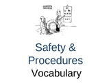Lab Safety and Procedures Vocabulary Powerpoint