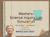 Lab: Science Inquiry and Washers