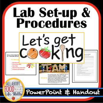 Lab Set-up and Procedures with Handout