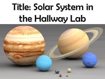 Lab: Solar System in the Hallway