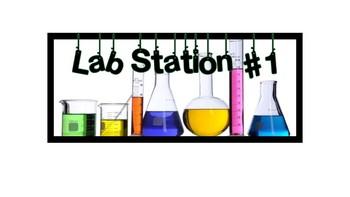 Lab Station Signs
