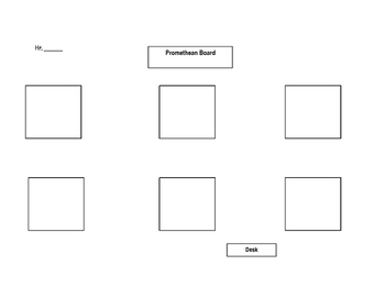 Lab Table Seating Chart