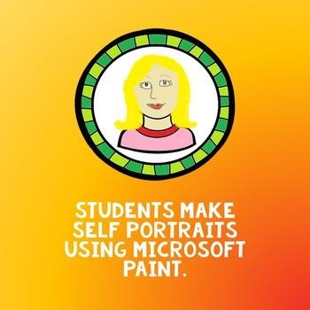 Lab Tech: Microsoft Paint Portraits