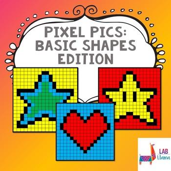 Lab Tech: Pixel Pics Excel Worksheets