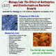 Effect of Antiseptics and Disinfectants on Bacterial Growth (Biology Lab)