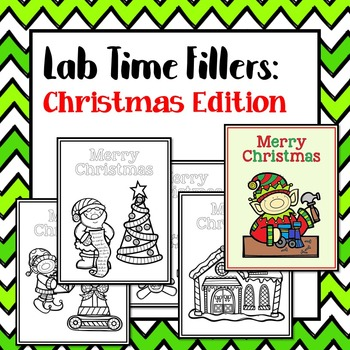 Lab Time Fillers: Christmas Edition