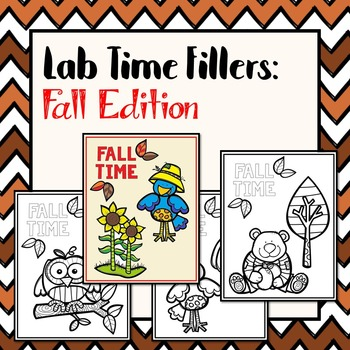 Lab Time Fillers: Fall Edition