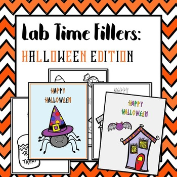 Lab Time Fillers: Halloween Edition