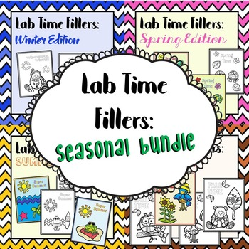 *NEW!* Lab Time Fillers: Seasonal Bundle