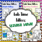 Lab Time Fillers: Seasonal Bundle