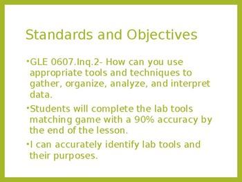 Lab Tools Lesson