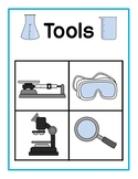 Lab Tools vs Toys Sorting Mats (3 Levels)