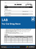 Lab - Toy Car Drag Race (Calculating Average Speed)