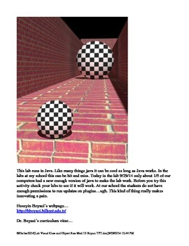 Psychology Lab Visual Cues and Object Size Perception Vision