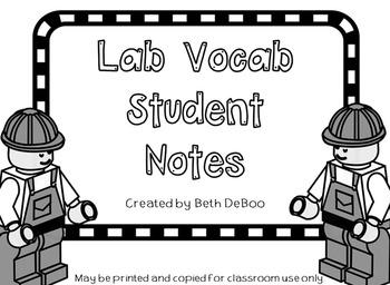 Lab Vocab Powerpoint - Student Handouts