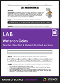 Lab - Water on Coins (Teacher & Student-Directed Versions)