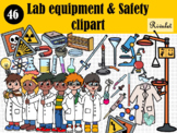 Lab equipment & Safety clipart
