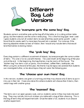 Lab in a Bag