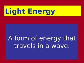 Forms of Energy: LabLearner Investigation 3