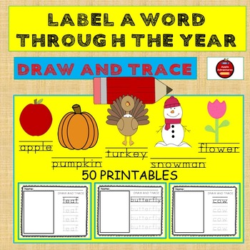 Label A Picture Word - Fall Series