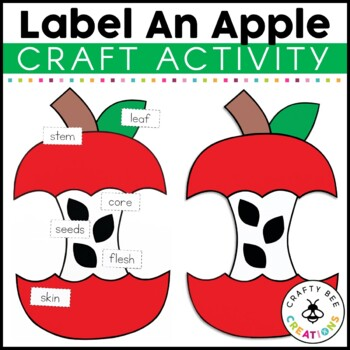 Label An Apple Craftivity
