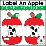 Apple Craft {Label an Apple}