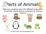 Label Animal Parts