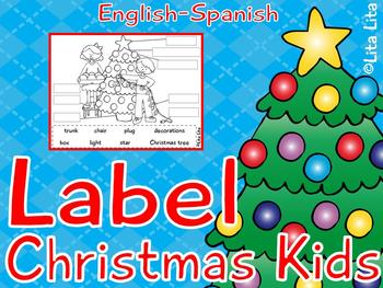 Label Christmas Kids