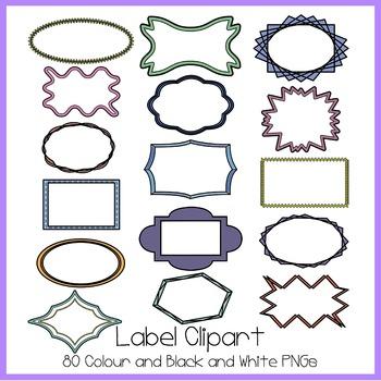 Label Clipart